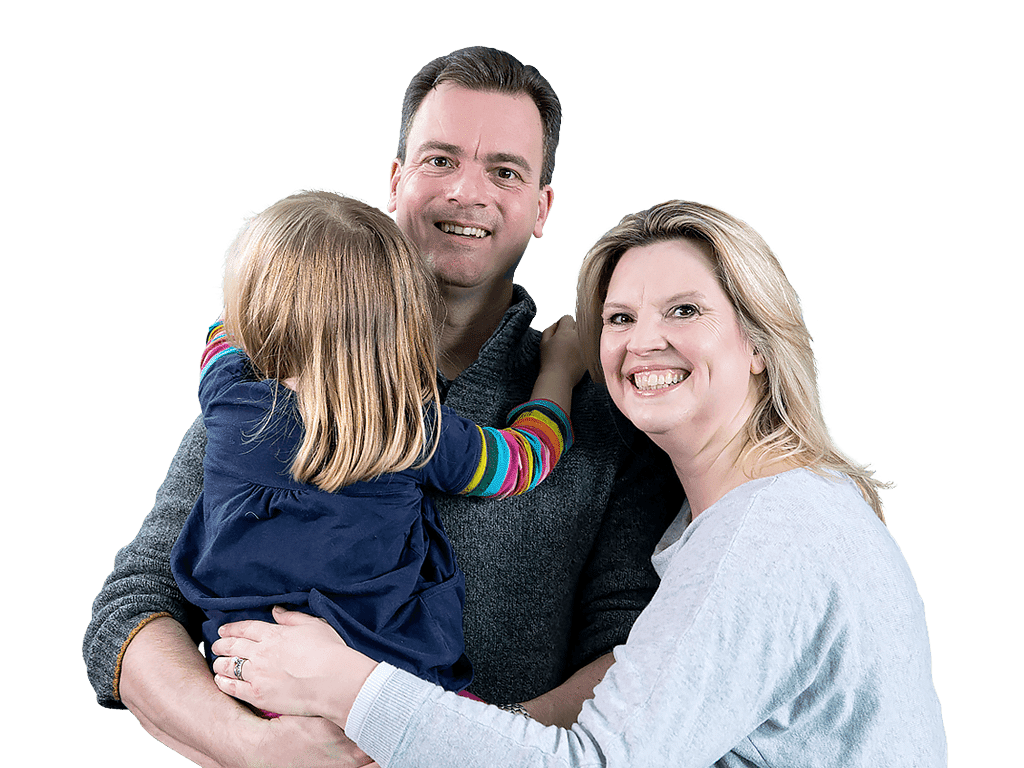Family image –Kirsty & Dennis